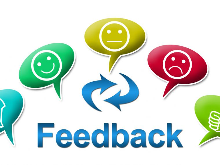 Feedback from practitioners training